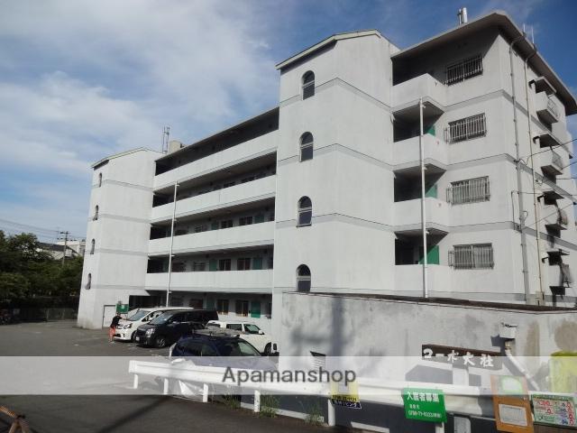 兵庫県西宮市、西宮北口駅徒歩28分の築38年 5階建の賃貸マンション