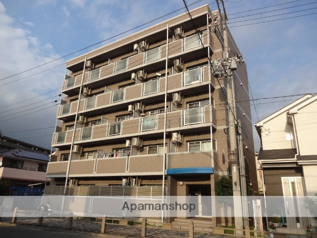 兵庫県神戸市東灘区、青木駅徒歩16分の築14年 5階建の賃貸マンション