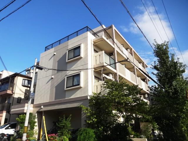 兵庫県神戸市東灘区、住吉駅徒歩9分の築19年 4階建の賃貸マンション
