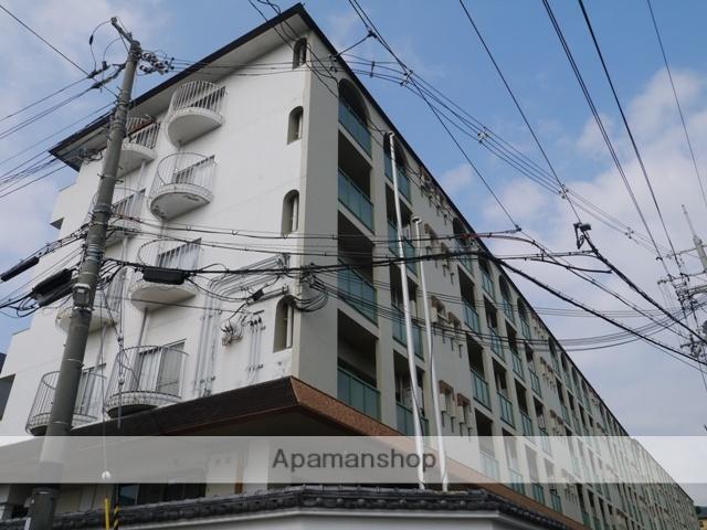 兵庫県芦屋市、芦屋駅徒歩16分の築44年 5階建の賃貸マンション