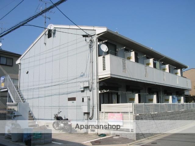 兵庫県西宮市、西宮駅徒歩29分の築20年 2階建の賃貸アパート