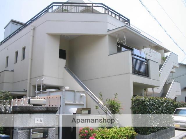 兵庫県西宮市、西宮北口駅徒歩21分の築33年 3階建の賃貸マンション