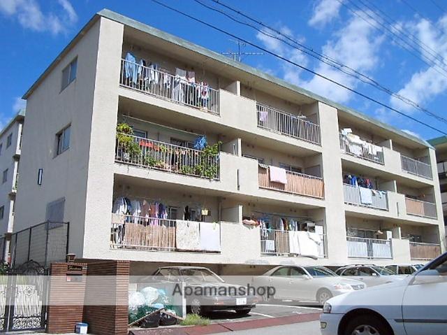 兵庫県西宮市、西宮駅徒歩13分の築39年 3階建の賃貸マンション