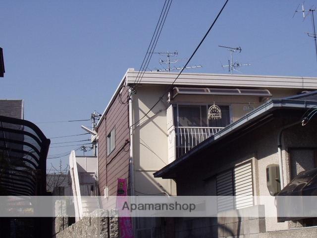 兵庫県西宮市、西宮北口駅徒歩5分の築34年 2階建の賃貸アパート