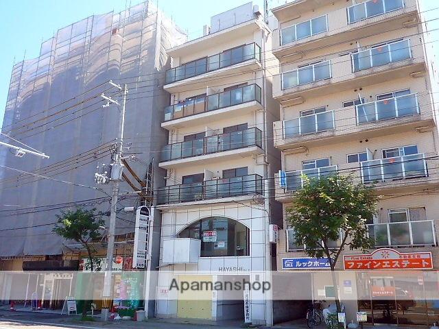 兵庫県西宮市、西宮駅徒歩14分の築30年 6階建の賃貸マンション