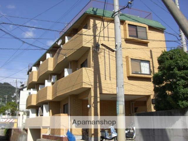 兵庫県芦屋市、芦屋駅徒歩10分の築30年 4階建の賃貸マンション