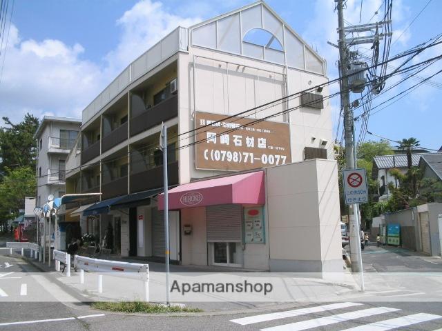 兵庫県芦屋市、芦屋駅徒歩15分の築44年 3階建の賃貸マンション