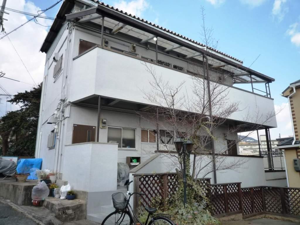 兵庫県芦屋市、芦屋駅徒歩14分の築36年 2階建の賃貸アパート