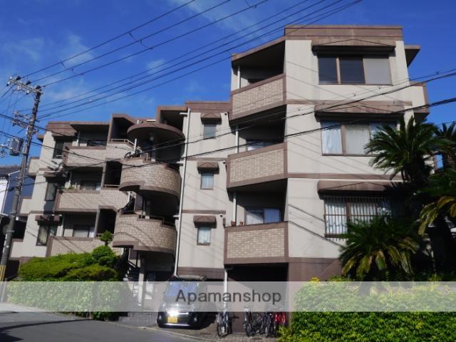 兵庫県芦屋市、芦屋駅徒歩15分の築25年 3階建の賃貸マンション