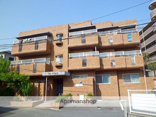 兵庫県西宮市、夙川駅徒歩32分の築27年 3階建の賃貸マンション