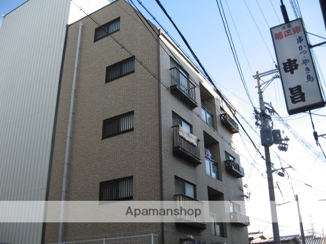 兵庫県芦屋市、芦屋駅徒歩16分の築21年 5階建の賃貸マンション