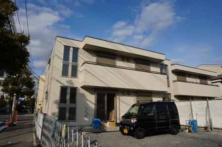 兵庫県尼崎市、尼崎駅バス19分阪急園田南下車後徒歩8分の築2年 2階建の賃貸マンション