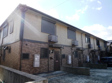 兵庫県芦屋市、芦屋駅徒歩9分の築13年 2階建の賃貸テラスハウス