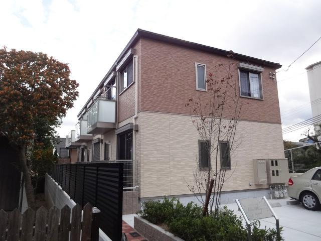 兵庫県神戸市東灘区、御影駅徒歩10分の新築 2階建の賃貸テラスハウス