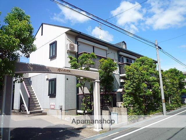 兵庫県西宮市、さくら夙川駅徒歩15分の築20年 2階建の賃貸アパート