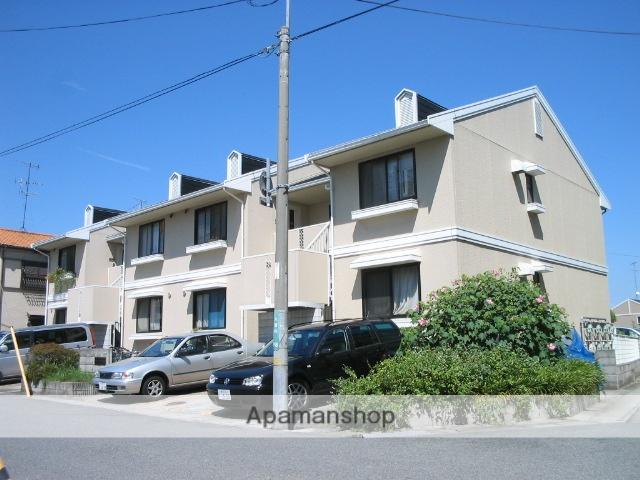 兵庫県西宮市、甲子園口駅徒歩19分の築30年 2階建の賃貸アパート