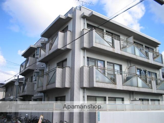 兵庫県西宮市、西宮駅徒歩15分の築27年 3階建の賃貸マンション