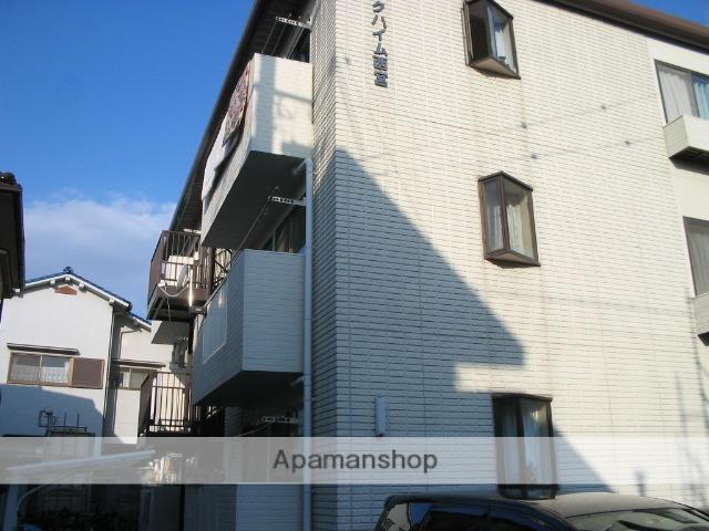 兵庫県西宮市、西宮駅徒歩6分の築26年 3階建の賃貸マンション