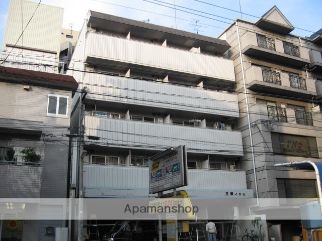 兵庫県西宮市、さくら夙川駅徒歩14分の築26年 5階建の賃貸マンション