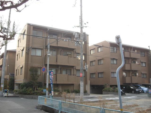 兵庫県西宮市、鳴尾駅徒歩10分の築21年 3階建の賃貸マンション