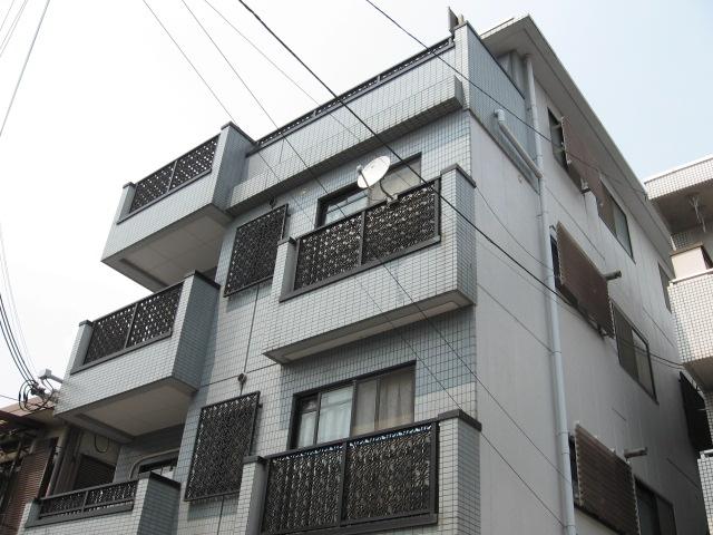 兵庫県西宮市、今津駅徒歩12分の築26年 4階建の賃貸マンション