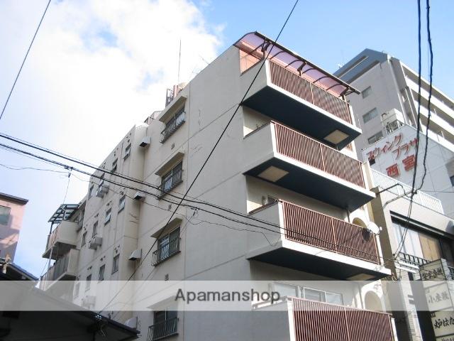 兵庫県西宮市、西宮駅徒歩14分の築39年 5階建の賃貸マンション