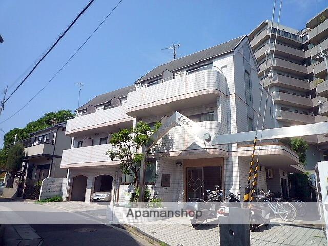 兵庫県西宮市、夙川駅徒歩16分の築25年 3階建の賃貸マンション