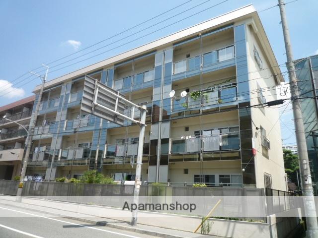兵庫県西宮市、夙川駅徒歩15分の築44年 4階建の賃貸マンション