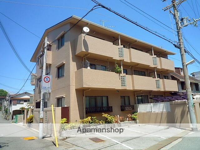兵庫県西宮市、さくら夙川駅徒歩12分の築26年 3階建の賃貸マンション