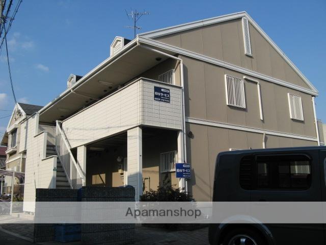 兵庫県西宮市、さくら夙川駅徒歩17分の築22年 2階建の賃貸アパート