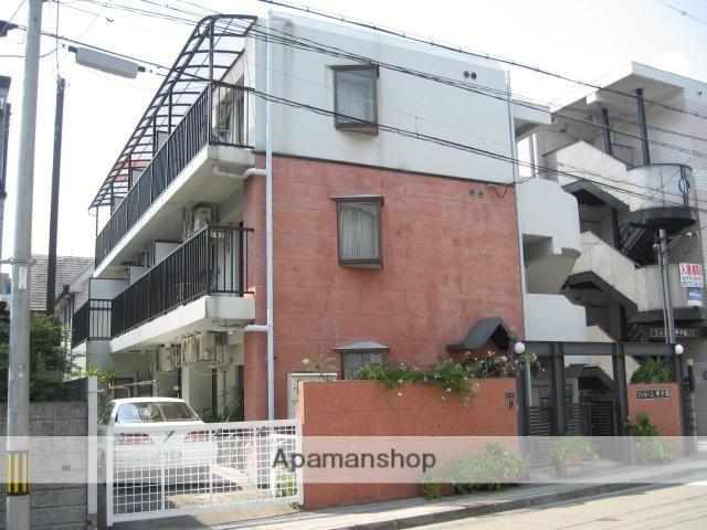 兵庫県西宮市、甲子園口駅徒歩8分の築29年 3階建の賃貸マンション