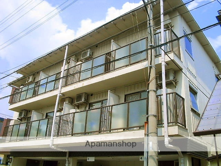 兵庫県尼崎市、立花駅徒歩16分の築32年 3階建の賃貸マンション