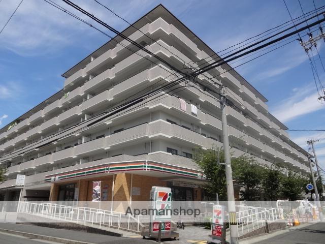 兵庫県神戸市東灘区、甲南山手駅徒歩7分の築19年 7階建の賃貸マンション