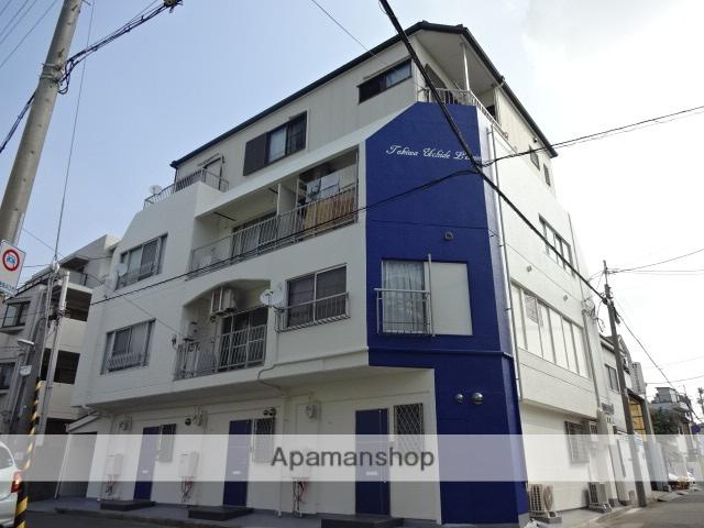 兵庫県芦屋市、芦屋駅徒歩18分の築38年 4階建の賃貸マンション