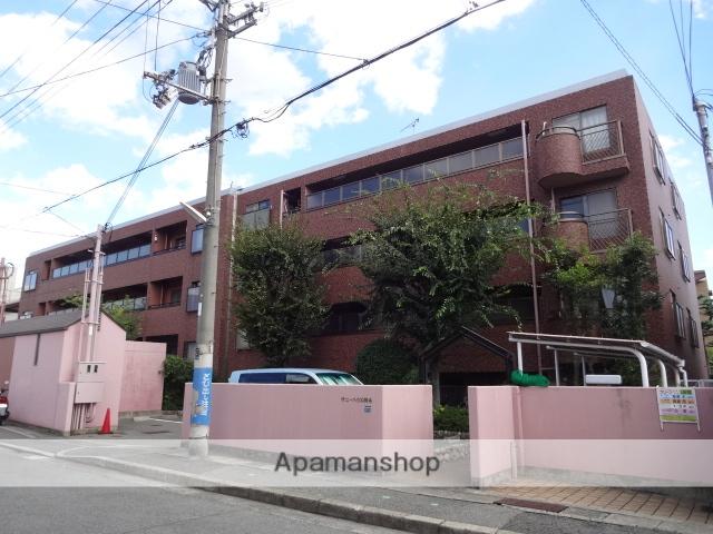兵庫県神戸市東灘区、摂津本山駅徒歩4分の築33年 4階建の賃貸マンション