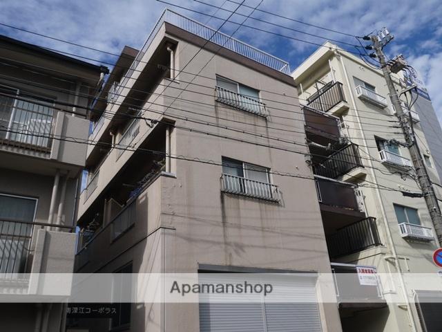 兵庫県神戸市東灘区、甲南山手駅徒歩14分の築43年 4階建の賃貸マンション