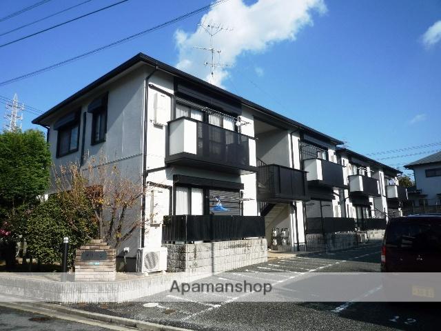 兵庫県芦屋市、芦屋駅徒歩21分の築19年 2階建の賃貸アパート