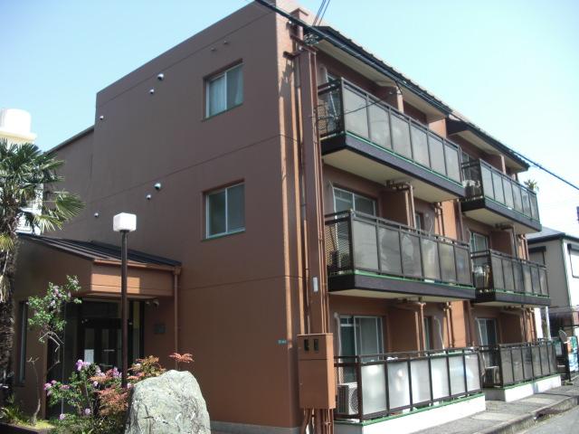 兵庫県西宮市、門戸厄神駅徒歩18分の築30年 3階建の賃貸マンション