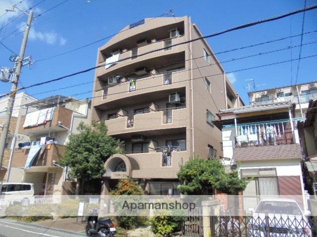 兵庫県尼崎市、立花駅徒歩8分の築23年 5階建の賃貸マンション