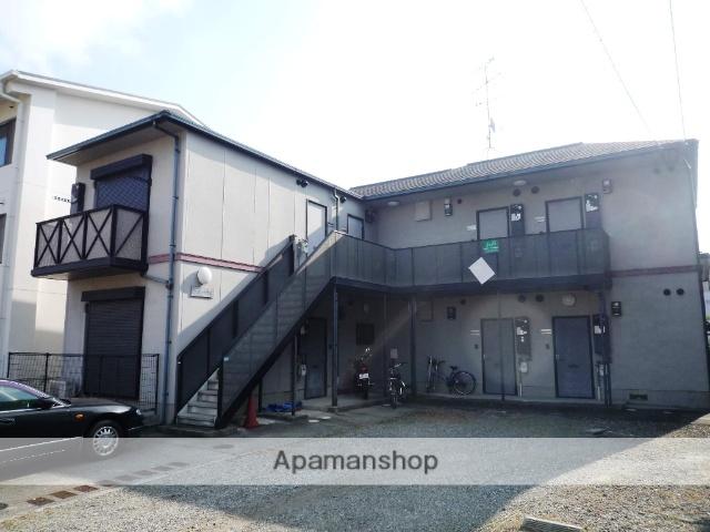 兵庫県芦屋市、芦屋駅徒歩9分の築20年 2階建の賃貸アパート