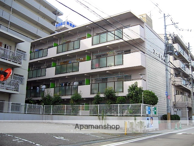 兵庫県伊丹市、伊丹駅徒歩14分の築31年 4階建の賃貸マンション
