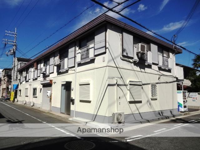 兵庫県芦屋市、芦屋駅徒歩15分の築33年 2階建の賃貸アパート