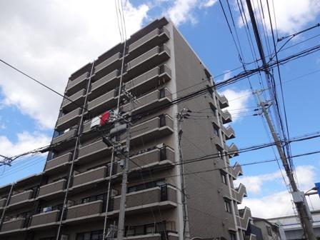兵庫県神戸市東灘区、六甲道駅徒歩16分の築19年 9階建の賃貸マンション