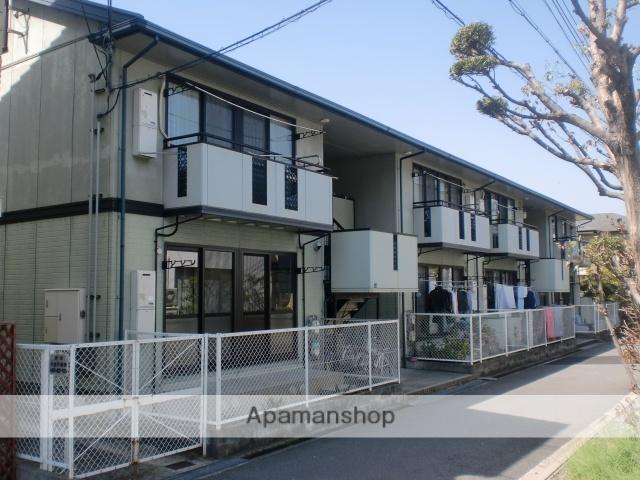 兵庫県神戸市東灘区、御影駅徒歩10分の築20年 2階建の賃貸アパート
