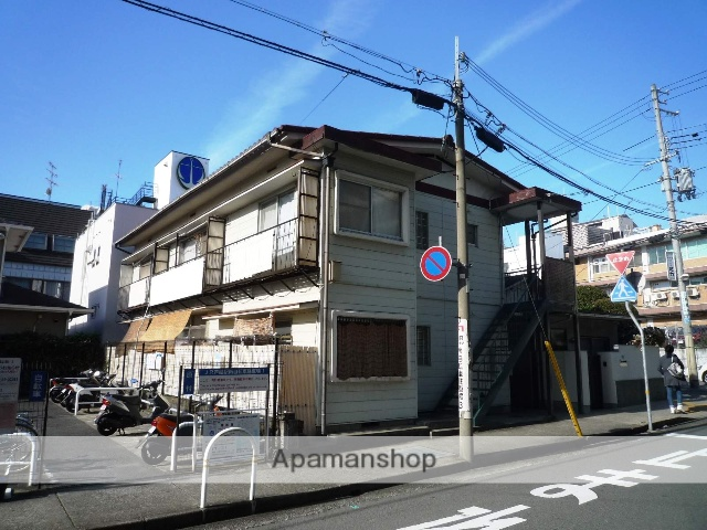 兵庫県芦屋市、芦屋駅徒歩1分の築47年 2階建の賃貸アパート