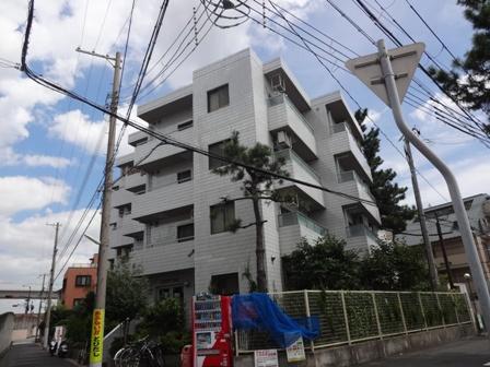 兵庫県神戸市東灘区、魚崎駅徒歩6分の築27年 5階建の賃貸マンション
