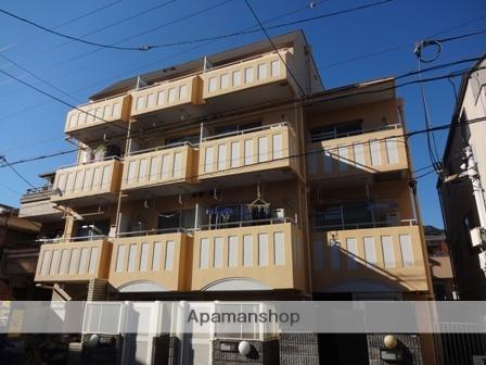 兵庫県神戸市東灘区、甲南山手駅徒歩10分の築32年 4階建の賃貸マンション