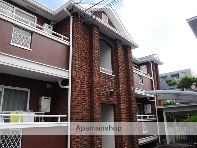 兵庫県芦屋市、芦屋駅徒歩18分の築25年 2階建の賃貸アパート