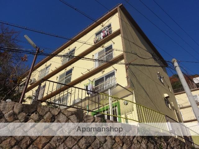 兵庫県神戸市東灘区、摂津本山駅徒歩18分の築57年 4階建の賃貸マンション
