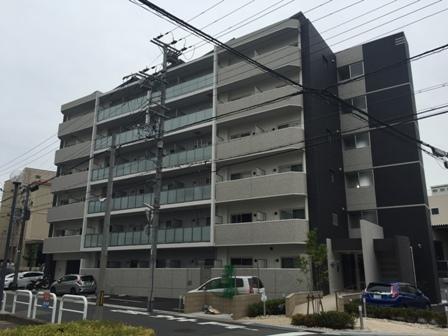 兵庫県神戸市東灘区、六甲道駅徒歩18分の新築 6階建の賃貸マンション